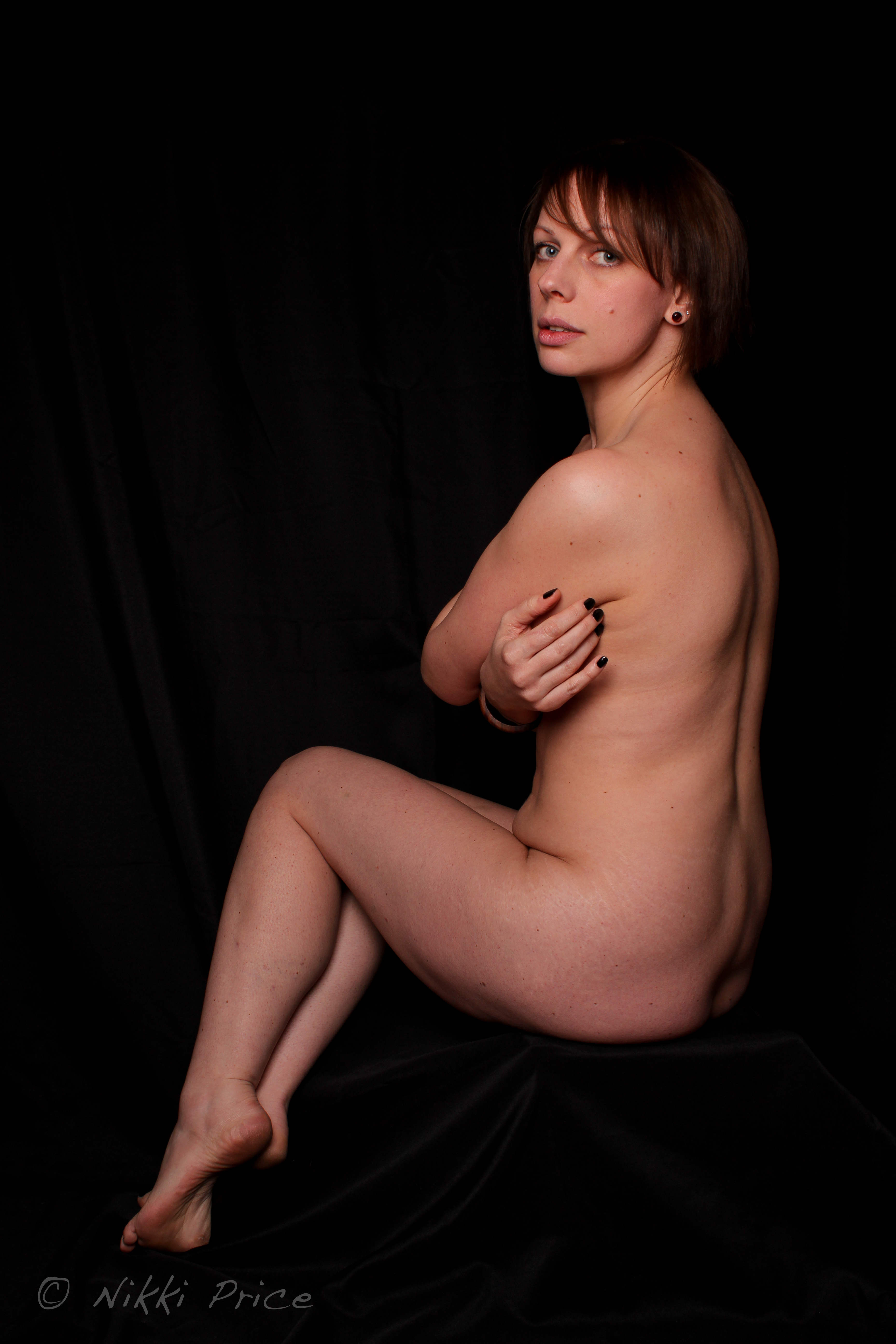 Nude black female muscle-1752